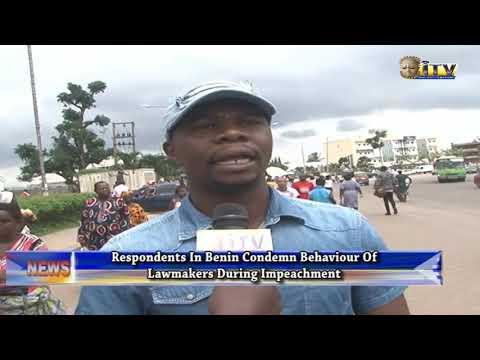 Respondents In Benin Condemns Behaviour Of Lawmakers During Impeachment Of Speaker