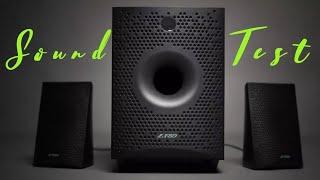 Sound Test Of F&D F210X 2.1 Multimedia Bluetooth Speaker