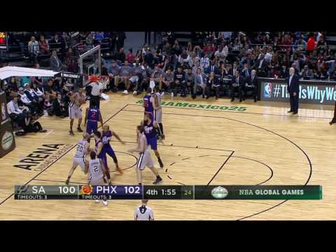 San Antonio Spurs at Phoenix Suns - January 14, 2017