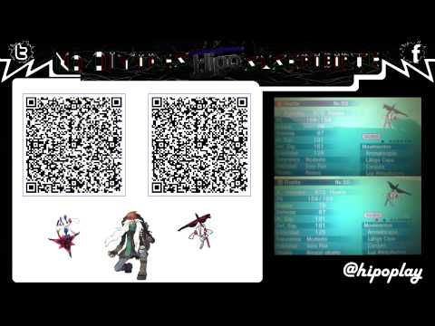 code qr floette flor eterna az normal amp shiny pokemon xy