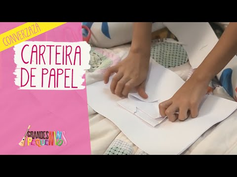4f88757a6 Converzazá  Carteira de Papel - YouTube
