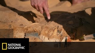 Archeolodzy trafili na tajemniczą pośmiertną maskę! [Dolina Królów: miejsce pełne tajemnic]