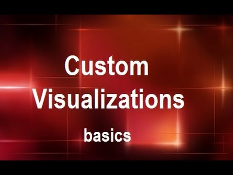 MicroStrategy - Custom Visualizations - Online Training Video by MicroRooster