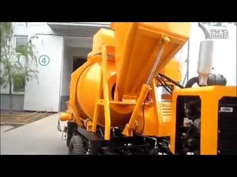 China Diesel Concrete Mixer Pump