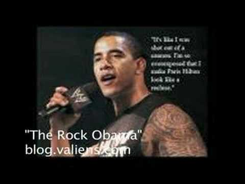 the rock obama youtube. Black Bedroom Furniture Sets. Home Design Ideas