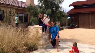 Fujita family accepts #IceBucketChallenge for ALS