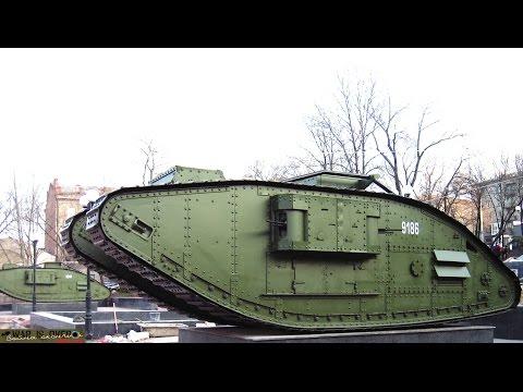 танк Mark-V (MK - V)   вид изнутри