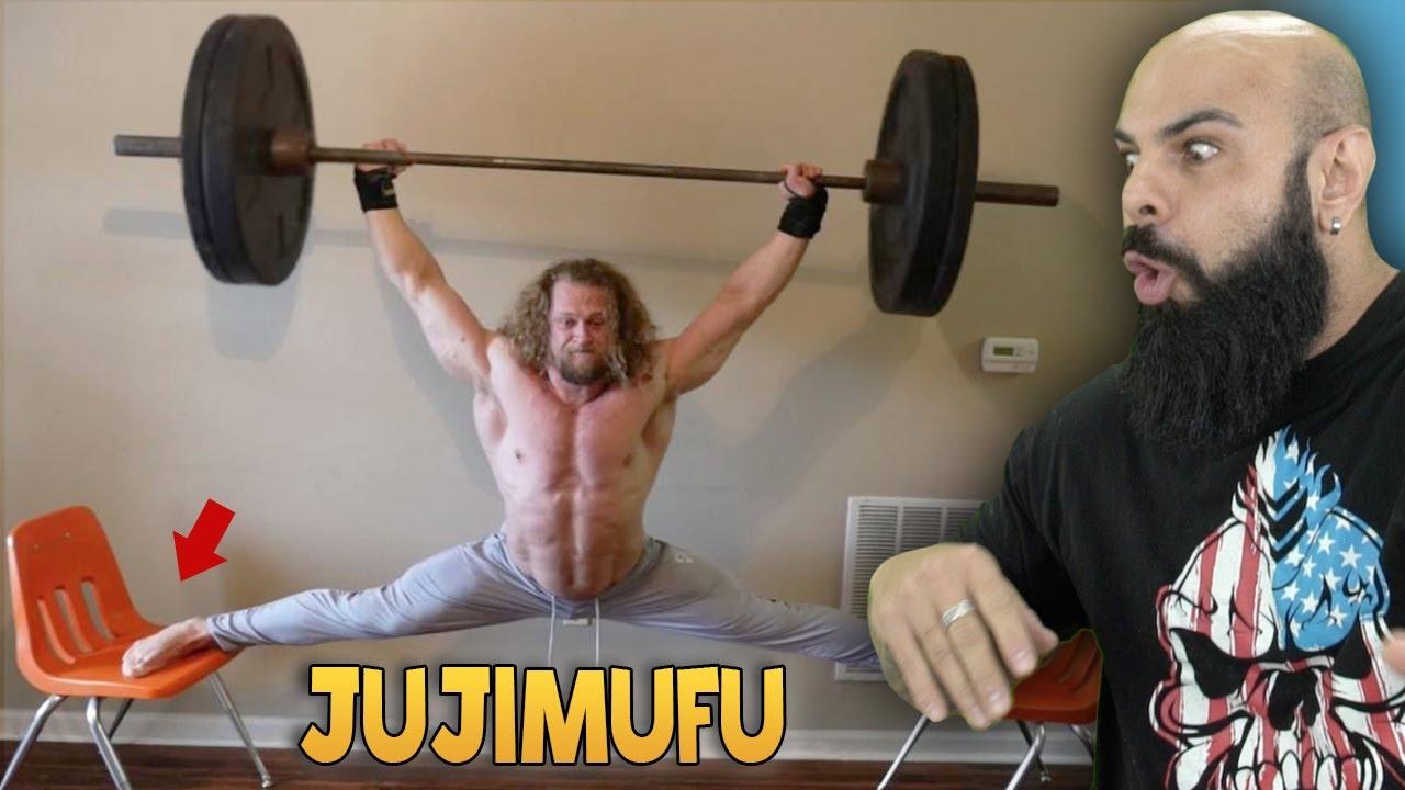 Reagindo a transformação e ao treino do Jujimufu - O bodybuilder mais doido da internet