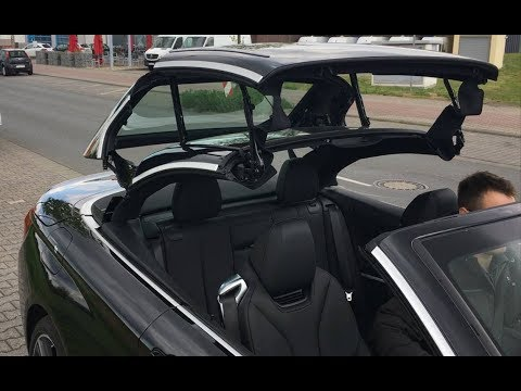 bmw 4 er cabrio baujahr 2019 hardtop dach und kofferraum ffnung youtube. Black Bedroom Furniture Sets. Home Design Ideas