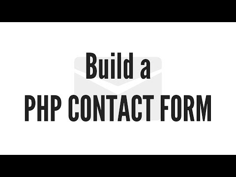 Build A PHP Contact Form