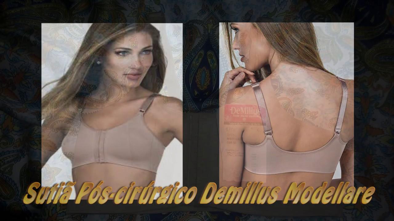 f3eb7e23c Demillus lingerie - sutiã pós cirúrgico com tiras sem bojo Modellare - bom  e barato!!