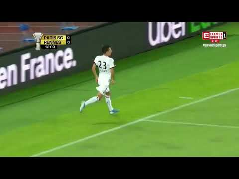 French Super Cup - Paris Saint-Germain vs Stade Rennais All Goals and Highlights