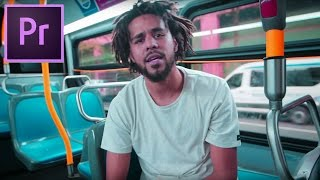 "How to Color Grade like the ""J Cole - False Prophets"" Music Video (Adobe Premiere Pro CC Tutorial)"