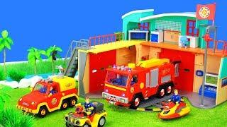 Feuerwehrmann Sam Spielzeug Und Feuerwehrautos | Pontypandy Feuerwacht Unboxing Episode Für Kinder
