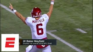 Cleveland Browns take Oklahoma QB Baker Mayfield No. 1 overall in 2018 NFL draft | ESPN