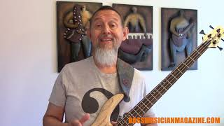 Bass Musician Magazine Reviews - Cort Artisan A4 Ultra Ash Bass
