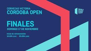 Finales - Cervezas Victoria Córdoba Open 2019 - World Padel Tour