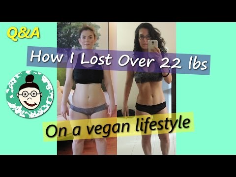 My Weight-loss Transformation on a Vegan Lifestyle - How I Did It! (Q&A)