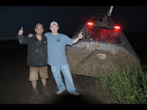 TIV2 in a ditch after tornado in Lebanon - short clip by Heath Jepson