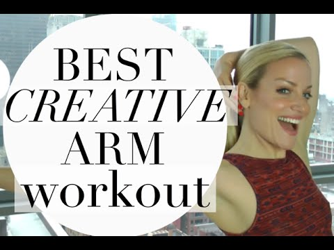 BEST ARM WORKOUT FOR WOMEN | CREATIVE ARM WORKOUT | TRACY CAMPOLI