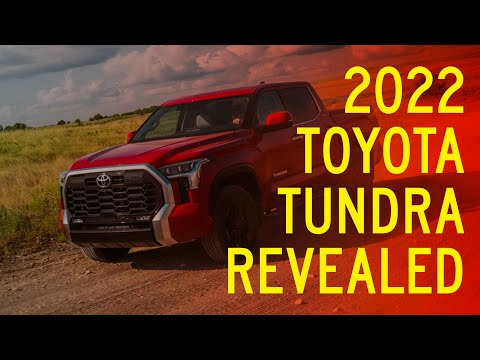 2022 Toyota Tundra Revealed, Takes Shots at Chevy, Ford, Ram Pickups
