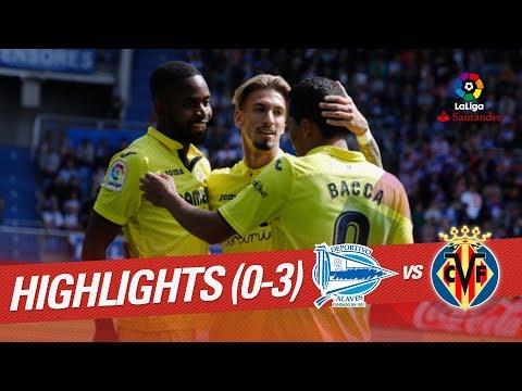 Resumen de Deportivo Alavés vs Villarreal CF (0-3)