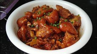 客家传统焖猪脚,简单快速又美味,新手一次成功,出锅汁都吃光光