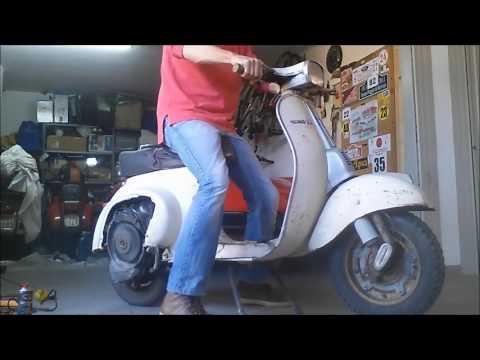 vespa 50 special 1975 rimessa in moto dopo 22 anni youtube. Black Bedroom Furniture Sets. Home Design Ideas