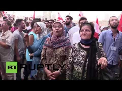 Lebanon: Thousand-strong 'YouStink' demo grips Beirut as sandstorm hits capital