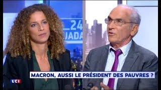 Plan pauvreté : Charlotte Girard (FI) met en PLS François de Closets !
