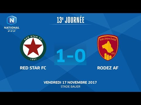 Vendredi 17/11/2017 à 19h45 - Red Star FC - Rodez Aveyron F. - J13