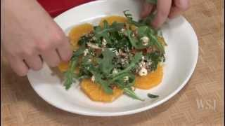 How To Make A Healthy Orange Salad - Slow Food Fast