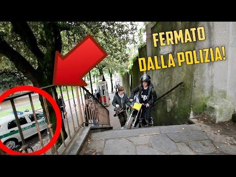 GARE ABUSIVE TRA MINIMOTO E PIT BIKE + POLIZIA!!