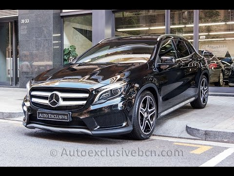 Benz Gla 250 >> Mercedes-Benz GLA 250 * AMG * Exclusivo - Negro Cosmos - Piel Marrón - Auto Exclusive BCN - YouTube