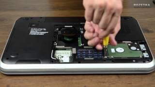 Встановлення SSD в ноутбук Dell Inspiron 7720 і швидкість завантаження Windows 7