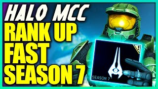 How to Rank Up Fast in Halo MCC Season 7! How to Get Season Points FAST in MCC!