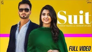 Suit Nimrat Khaira Ft Mankirt Aulakh Full Video bass boosted -Sukh Sanghera