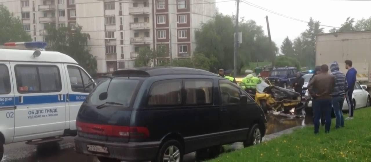 ДТП Бориспольская трасса. Бесмертный ланос