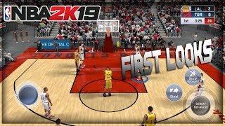 NBA 2K19 IOS GAMEPLAY FIRST LOOKS!!