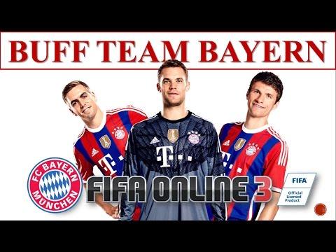I Love FO3: Đội Hình Buff Team Color: Bayern Munich Trong Fifa Online 3 2016 #7