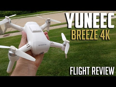 Yuneec Breeze 4K GPS Drone Flight Review