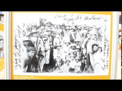 Exposición de archivos fotográficos provincial en la Plaza Sucre