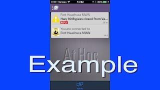 fort report emergency notification app