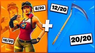 🔥 I NOTE YOUR 20 TRYHARD SKIN COMBOS ON FORTNITE! v7