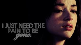 » I just need the pain to be gone... «