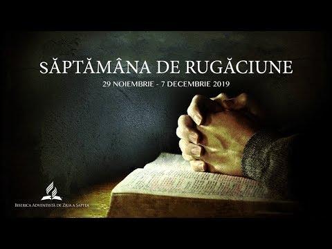 7 Decembrie 2019 - Emanuel Oncea [ora de rugaciune]