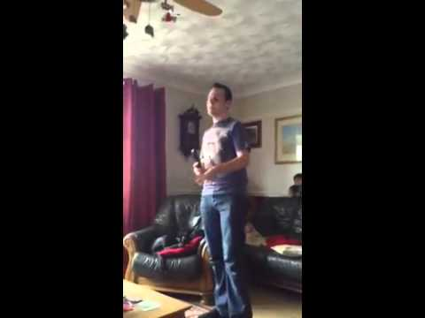 Cover of me singing Thinking out loud Toby Hayward