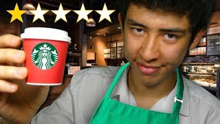 ASMR worst reviewed starbucks