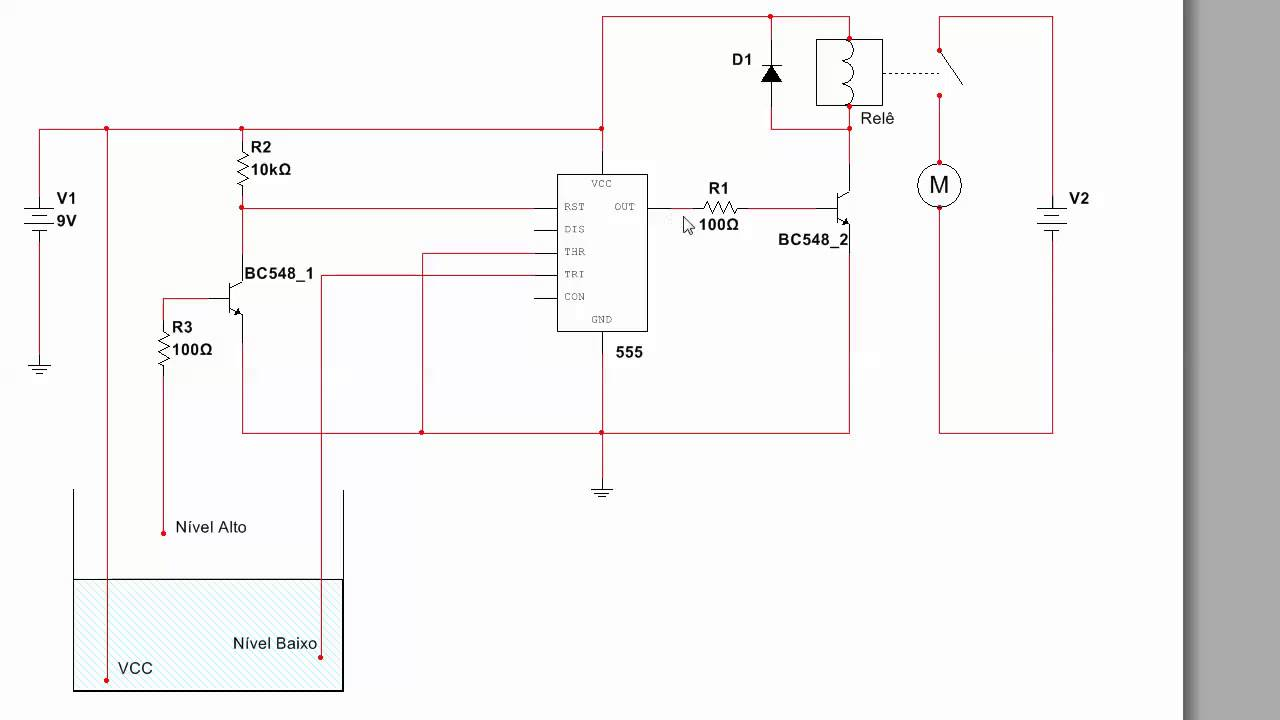 Circuito Ne555 : Circuito integrado