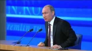 Украина. Цены на газ. Вступление в Евросоюз. Торговые отношения. Конференция Путина 19 декабря 2013